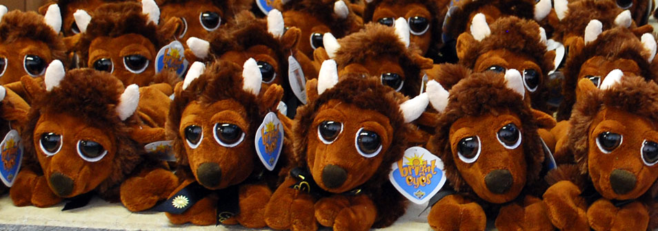 bison stuffed animals